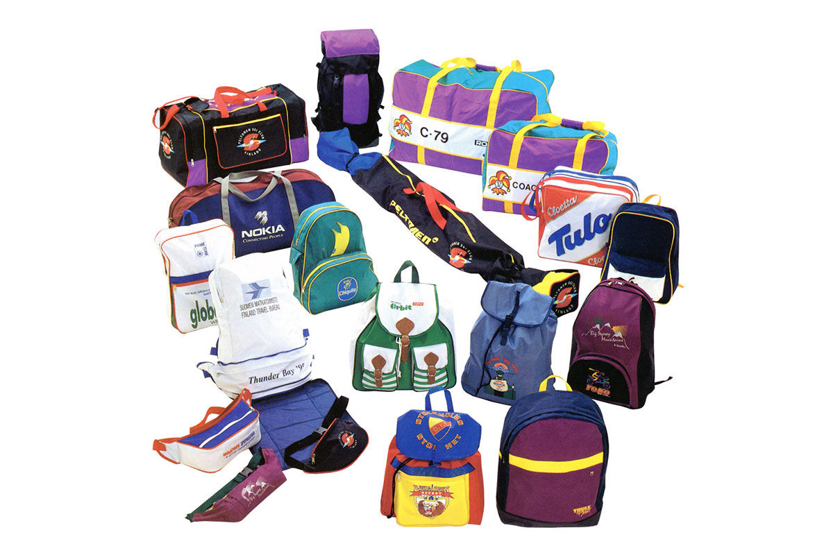 Bags for sportspeople and sport teams